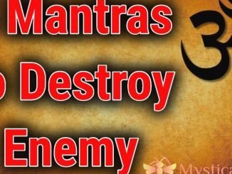 mantra to destroy enemies