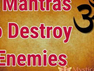 Powerful Mantra For Destroy Enemy