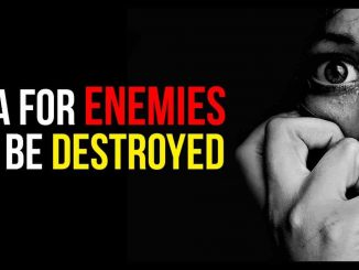 Simple Mantras To Destroy Enemies