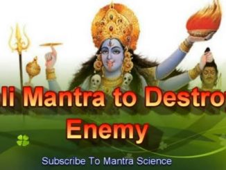 kali mantra to destroy enemies