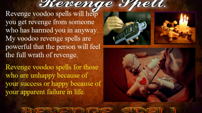How to Cast a Spell on Someone for Revenge